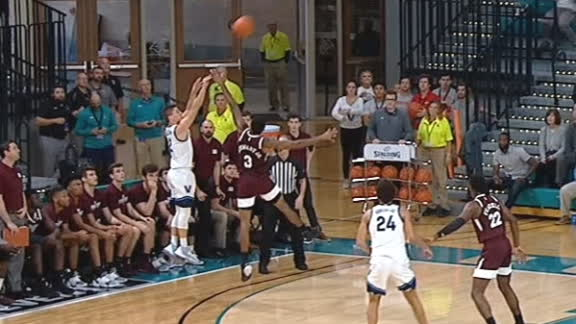 Villanova scores buzzer-beater 3 off full court pass