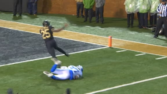 Wake Forest's Walker breaks tackles on TD run