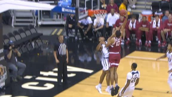 Stanford's da Silva posterizes Butler defender