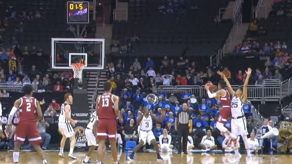 Stanford's Terry ties game with buzzer-beating triple