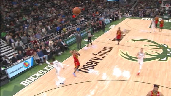 Young ends 1st half with buzzer-beating 3