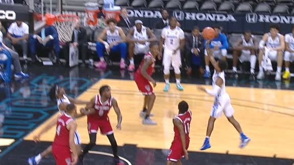 Harris hits late clutch floater for Memphis