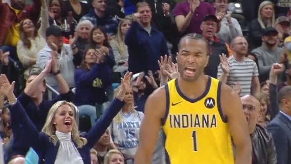 Warren sinks 3-ball in OT