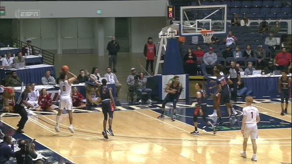 Arizona's Green knocks down a couple quick 3s