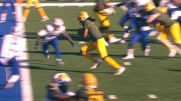 Baylor's Bohanon uses his legs for a 6-yard TD