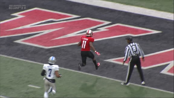 Jackson busts out the moves for 64-yard TD