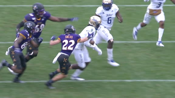 ECU's trick play goes horribly wrong