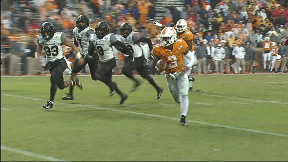 Gray's 56-yard scamper gets Tennessee on the board