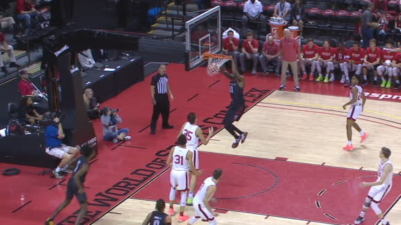 Temple's Hamilton throws down early dunk