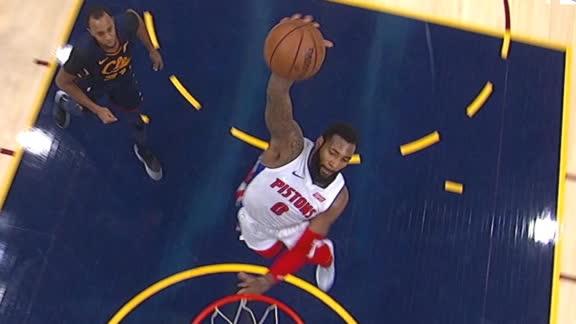 Drummond rocks the rim