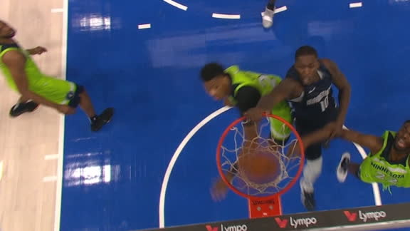 Finney-Smith gets the monster putback slam