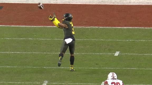 Herbert finds Johnson wide open for 45-yard TD