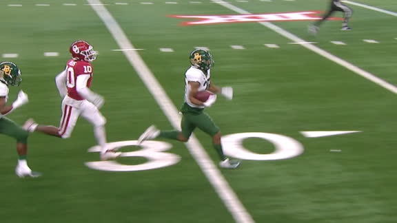 Ebner turns on the jets for an 81-yard TD