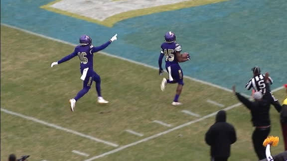 Alcorn State returns kickoff for 89-yard TD