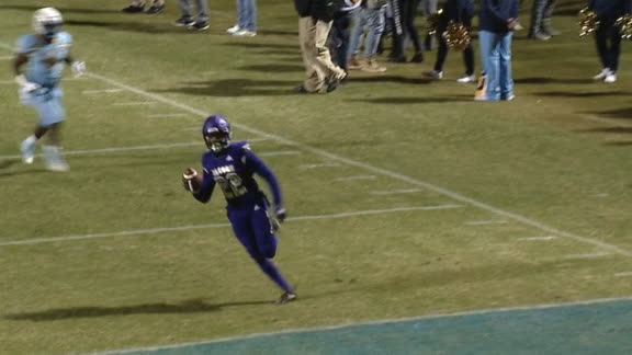 Alcorn State seals SWAC title with late pick-6