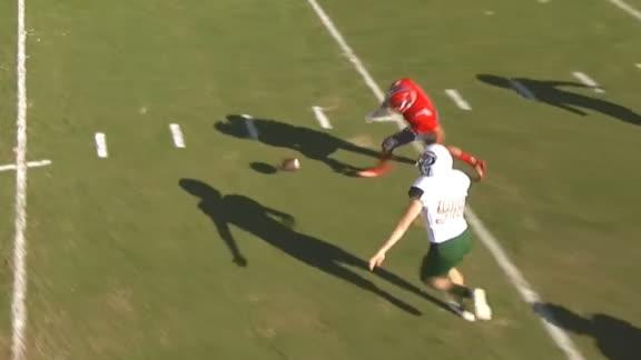 FAU blocks punt, takes it for TD