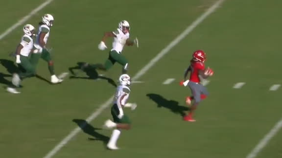 Antoine takes it 75 yards to the house for FAU