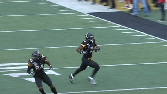 Thomas comes up with pick-six for Appalachian State