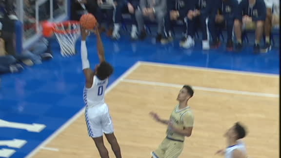 Hagans gets the steal and slam
