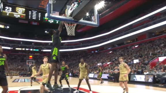 Brown dunks it down for MSU