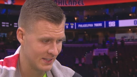 Porzingis: Without Luka, we're showing what we already knew