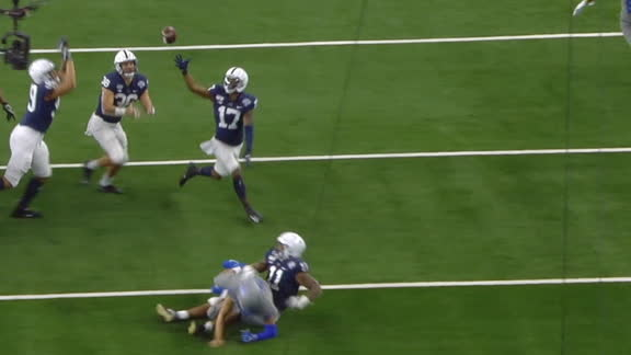Penn State gets pick-6 on bizarre play
