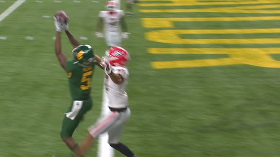 Baylor's Mims makes leaping TD grab