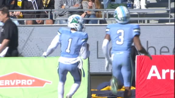 McMillan airs it out to McCleskey for a 52-yard TD