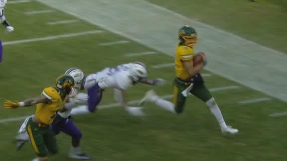 NDSU's Lance scrambles to score 44-yard TD