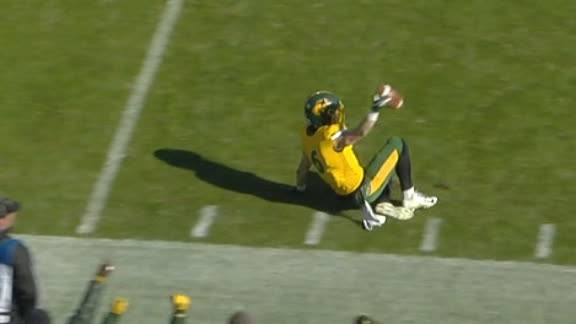 DiNucci's end-zone INT seals FCS Championship for NDSU