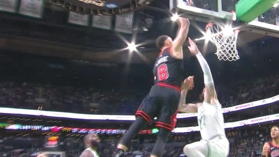 LaVine is cleared for takeoff