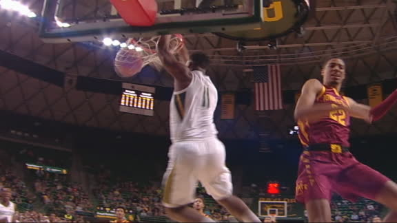 Mitchell zips pass to Vital for Baylor slam