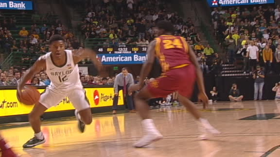 Baylor's Butler cooks defender with sweet handles