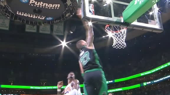 Smart feeds Theis for alley-oop slam