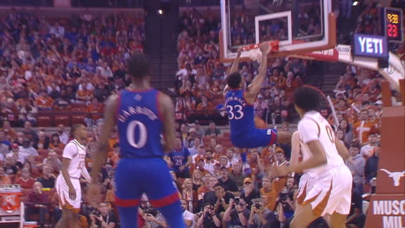 KU's McCormack throws it down with authority