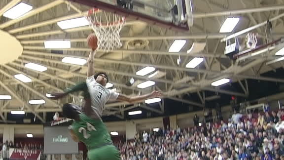 B.J. Boston throws down posterizing dunk on Giannis' little brother