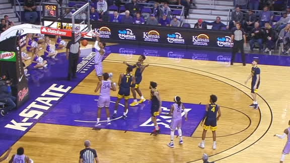 Gordon slams it home for Kansas State