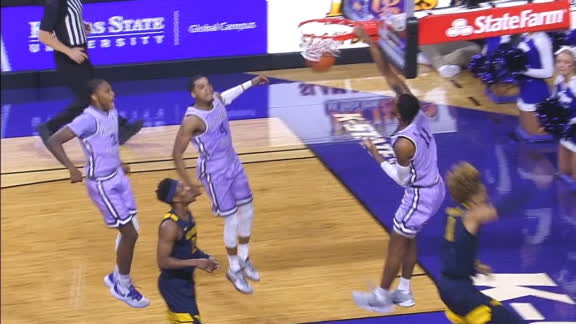 DaJuan and Antonio Gordon come up with nice scores for Kansas State