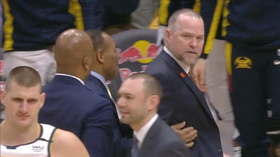 Malone ejected early in the third quarter