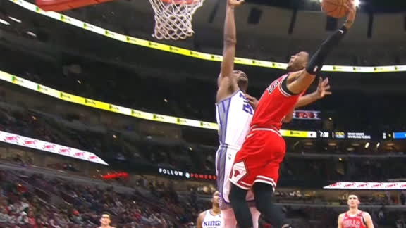 Giles denies Harrison with monster block