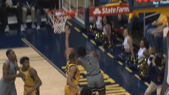 WVU's Culver hits acrobatic layup