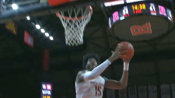 Rutgers' Johnson scores back-to-back buckets