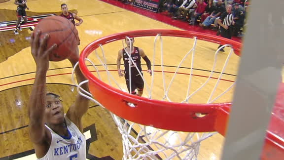 Quickley, Richards wreck the rim for Kentucky