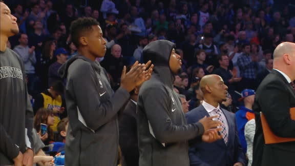 Nets, Knicks take 24-second violations to honor Kobe