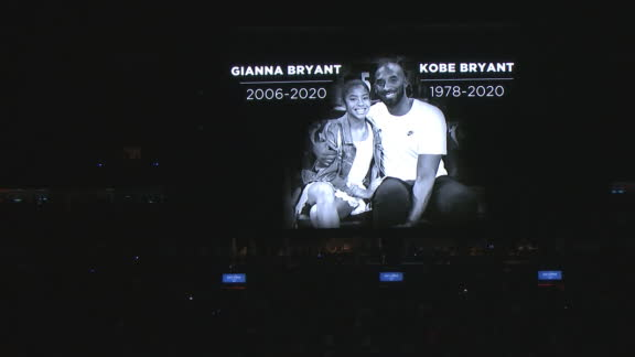 Pelicans hold 24-second moment of silence for Kobe and Gianna