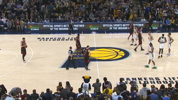 Bulls, Pacers pay homage to Kobe with clock violations