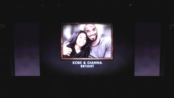 Rockets pay tribute to Kobe, Gianna, victims of helicopter crash