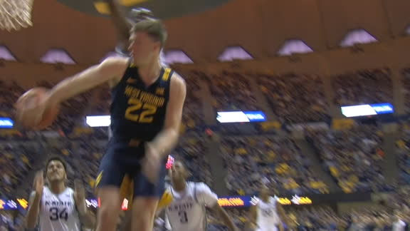 WVU's McNeil wraps pass around defender to Culver