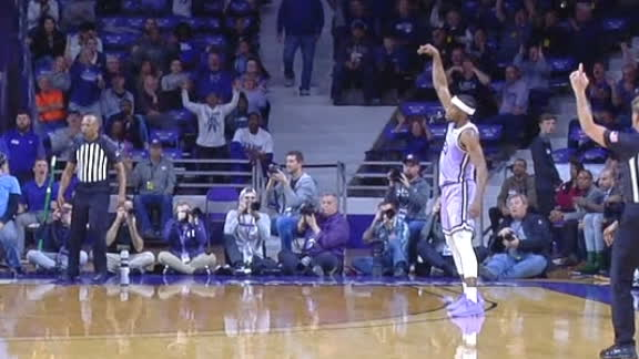 Sneed's 3 fires up the K-State crowd