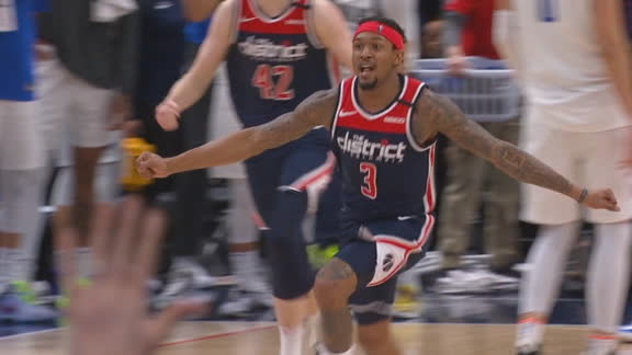 Beal sinks winning layup and the Wizards erupt